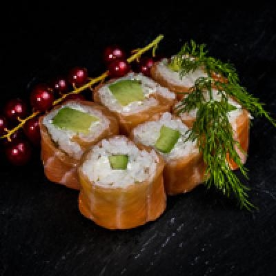 Saumon ROLL  2 Avocat fromage nature