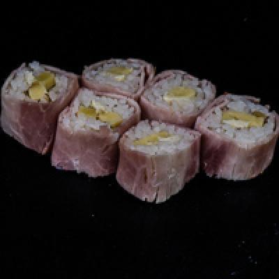 MB ROLL 4 -Jambon blanc, beurre, tomme céronnée, noix