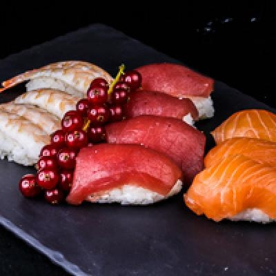 Sobo assortiment 4 thons, 3 saumons, 3 crevettes