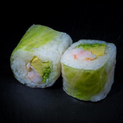 Spring ROLL 3 - Crevette, avocat, menthe, coriandre, salade iceberg