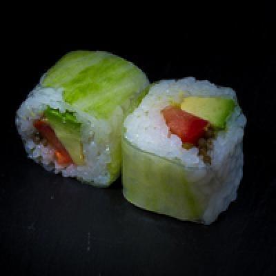 Spring ROLL 13 végétarien - Avocat, tomate, salicorne