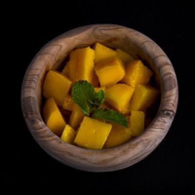 Salade de mangue fraîche