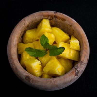 Salade d'ananas frais