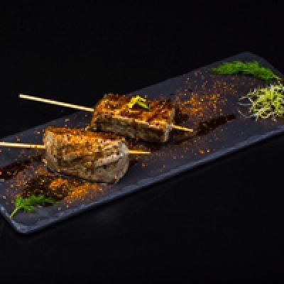 Yakitori 5 - Thon shichimi aux 7 épices