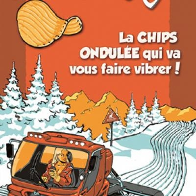 Chips la dameuse 120g