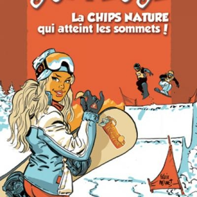 Chips la surfeuse 120g