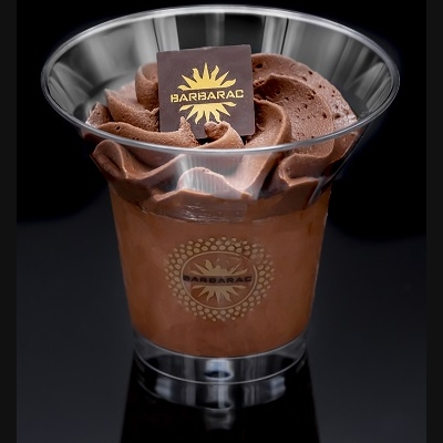 Verrine Glacée Sorbet Chocolat 150ml